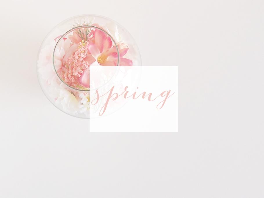 damos la bienvenida a la primavera