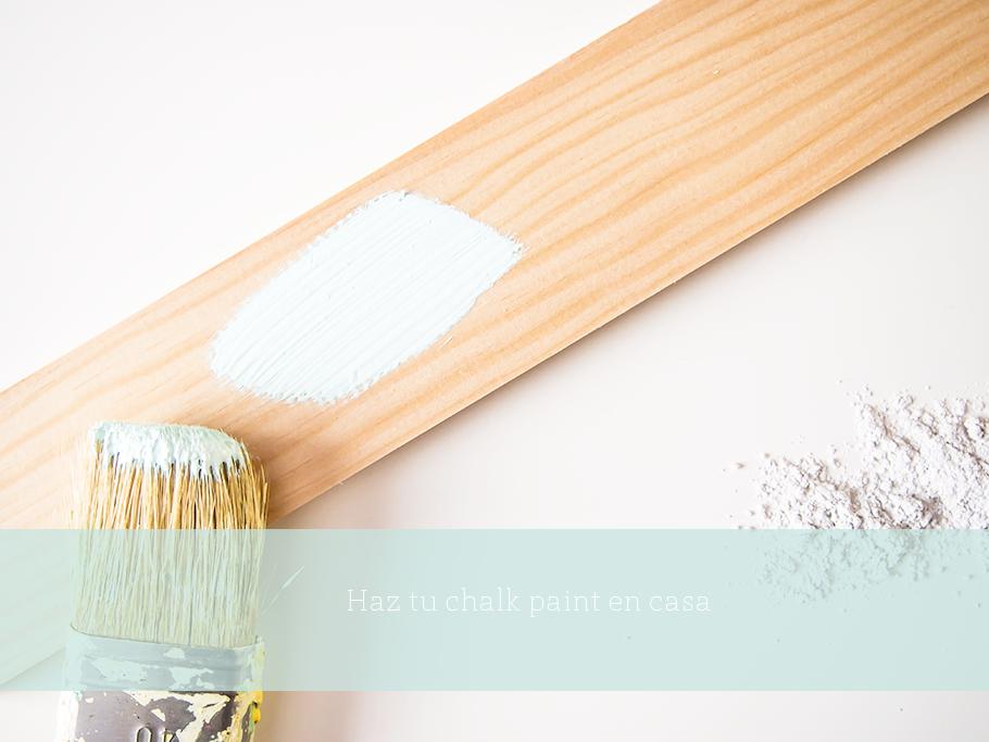 como hacer chalk paint y transformar un mueble