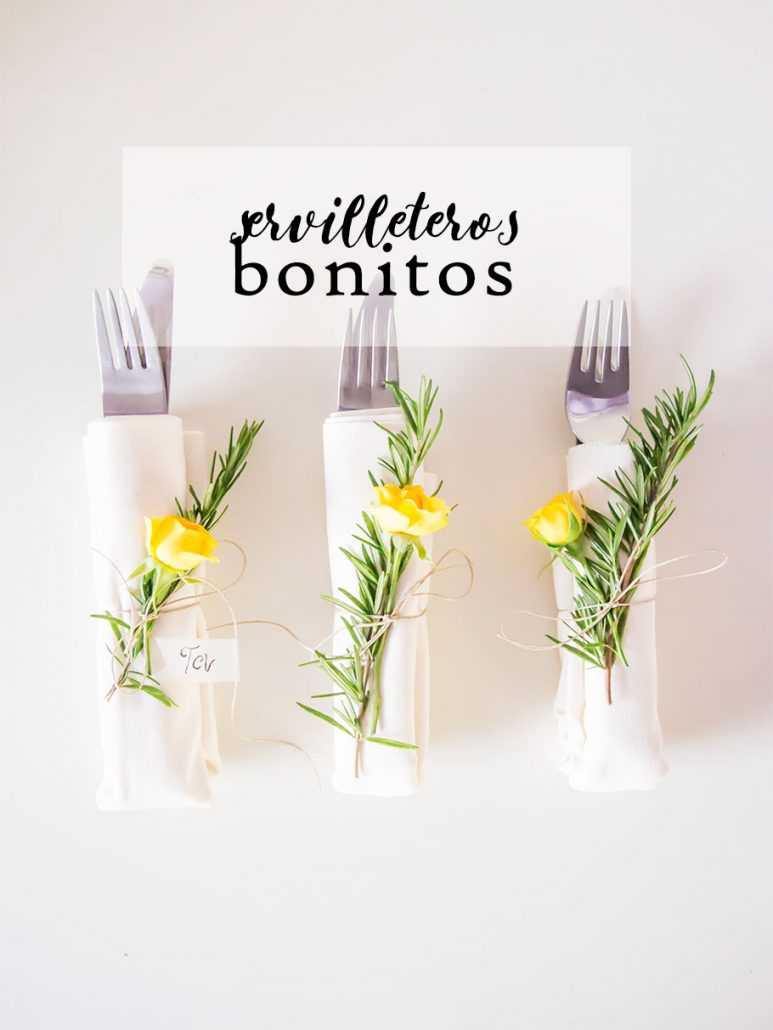 Diy servilleteros bonitos
