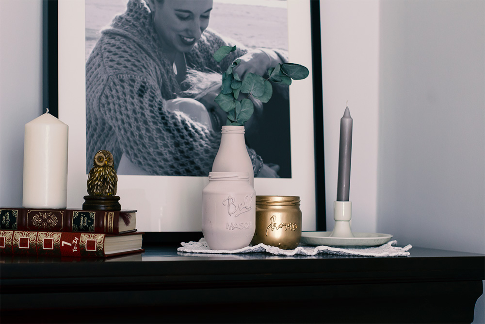 Botes de Maison jar, diy