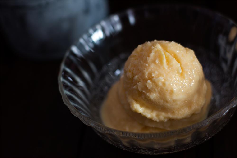 Haz tu helado de limón más cremoso