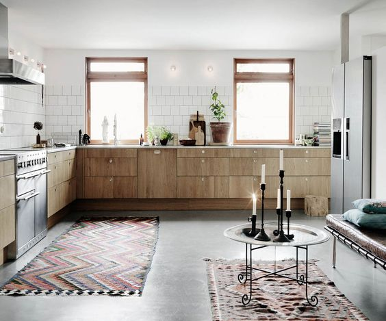motivos-alfombra-en-la-cocina