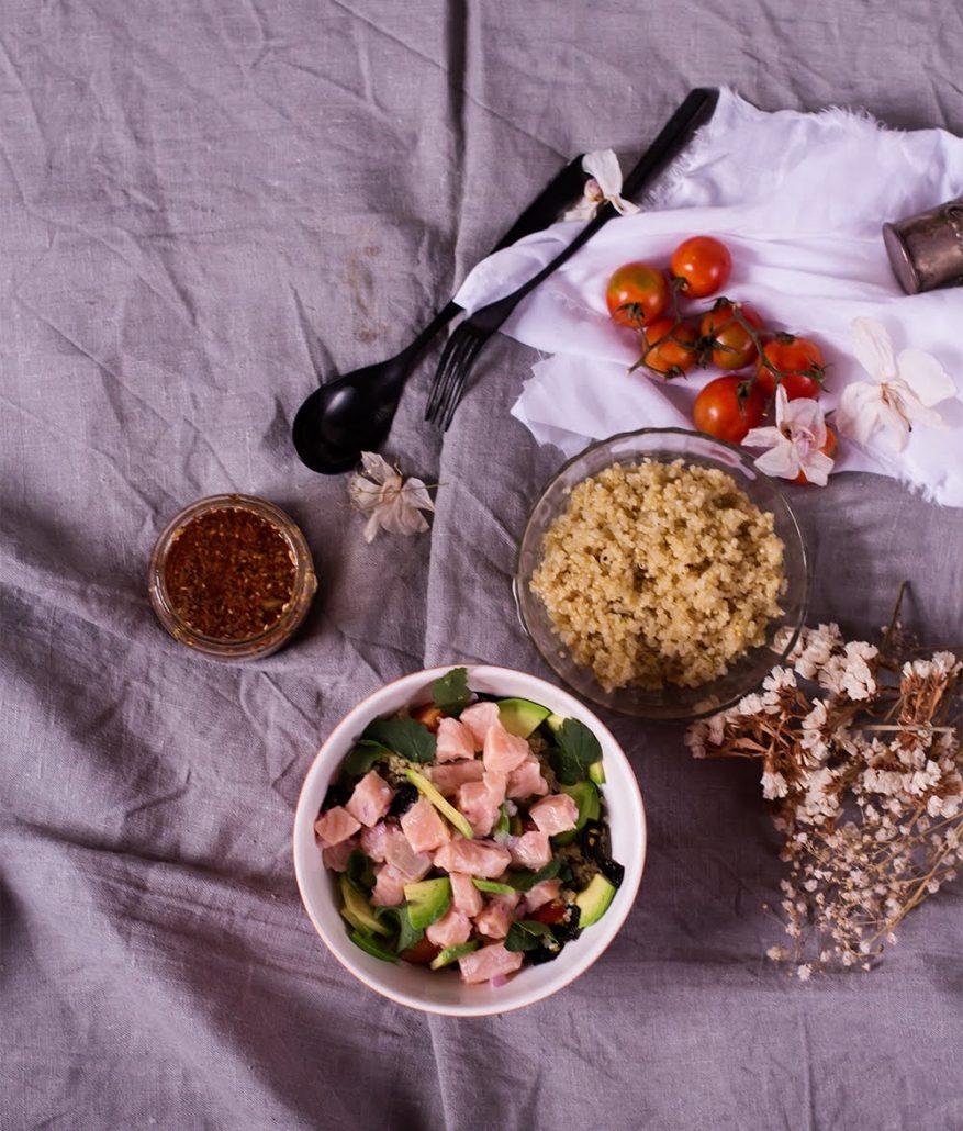 Poke bowl, receta básica