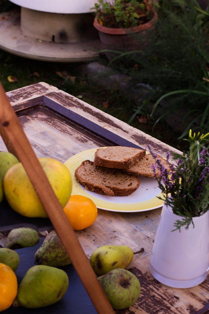 Bizcocho saludable de harina espelta, por una dieta sana