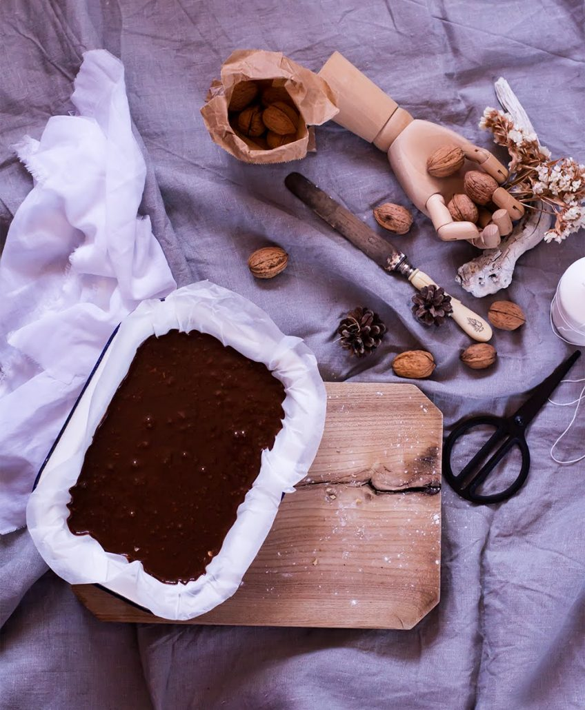Bronwnie + mis 3 trucos con el chocolate