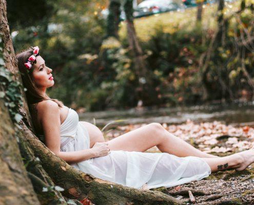 sesión de fotos embarazada Bilbao