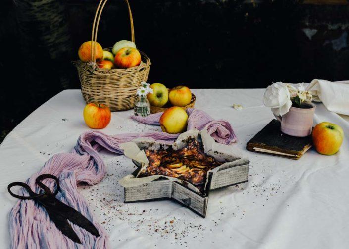 pastel-de-manzana