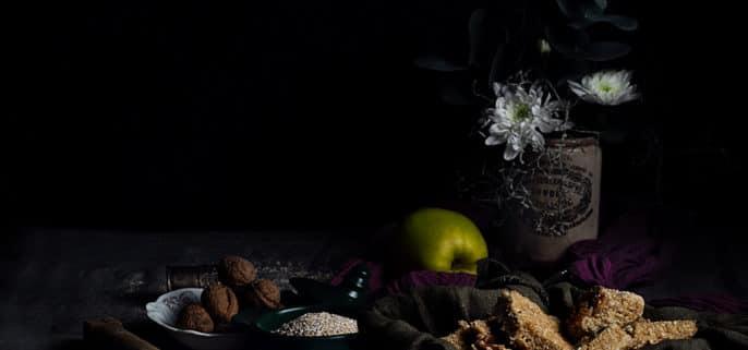barritas saludables de coco